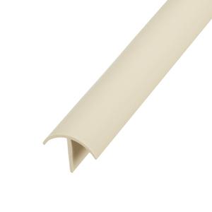 Perfil Parede Marfim 1,5x1,5x270cm Tecnoperfil