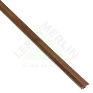 Perfil Piso Parede PVC Tecno Cacau Marfim 1,80m Eucafloor