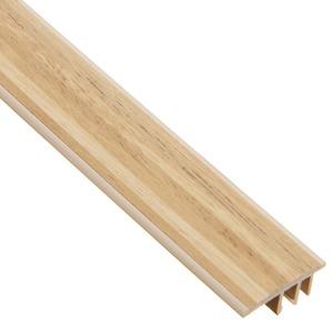 Perfil Piso Parede PVC Tecno Legno Claro 1,80m Eucafloor