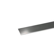 Perfil Plano Alumínio Anodizado Cromado 1mx1,5cm