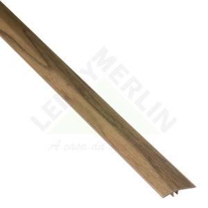 PERFIL REDUTOR PVC CARVALHO ANTIGO COMP 180,00 CM LARG 4,55 CM ESPES 0,80 CM TECNO EUCAFLOOR