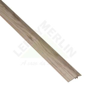 Perfil 1 8x240cm pvc evidence decap eucafloor leroy merlin for Perfil u aluminio leroy merlin
