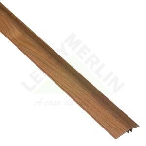 PERFIL REDUTOR PVC NOGUEIRA MALAGA COMP 180,00 CM LARG 45,50 CM ESPES 0,97 CM TECNO EUCAFLOOR