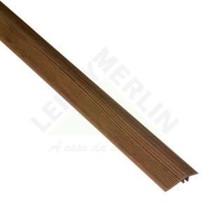 PERFIL REDUTOR PVC TECA BRASIL COMP 180,00 CM LARG 4,55 CM ESPES 0,80 CM TECNO EUCAFLOOR