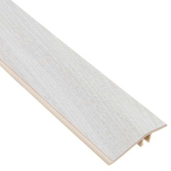 Perfil 9 7x240cm pvc elegance decap provence eucafloor for Perfil u aluminio leroy merlin
