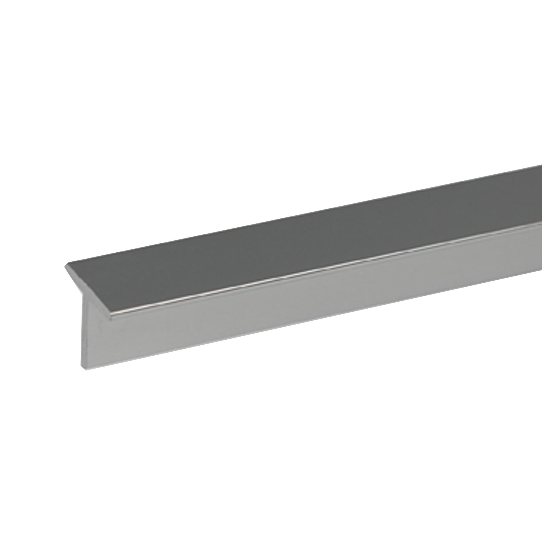 Perfil alum nio t 2mx15x1 5mm brilhante leroy merlin for Perfil u aluminio leroy merlin