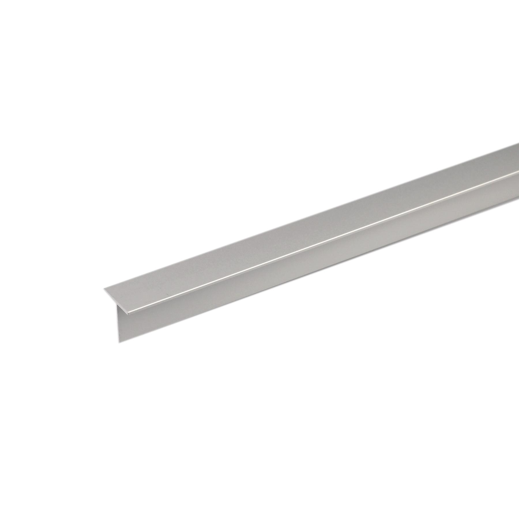 Perfil alum nio t 1mx15x15mm anodizado leroy merlin for Perfil u aluminio leroy merlin