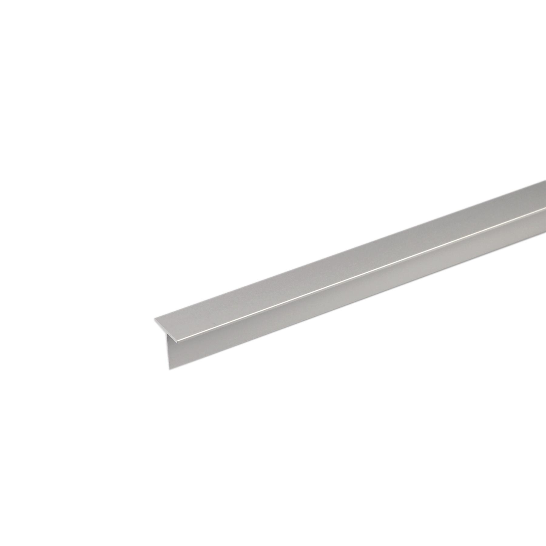 Perfil T Alumínio Anodizado 1mx30cm