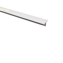 Perfil T para Piso de Embutir 3M Branco 2cm Alumínio
