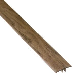 PERFIL T PVC CARVALHO ANTIGO COMP 180,00 CM LARG 3,40 CM ESPES 0,97 CM TECNO EUCAFLOOR