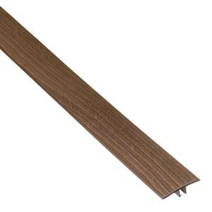 PERFIL T PVC CARVALHO CHAMONIX COMP 180,00 CM LARG 3,40 CM ESPES 0,97 CM TECNO EUCAFLOOR