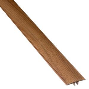 PERFIL T PVC NOGUEIRA MALAGA COMP 180,00 CM LARG 3,40 CM ESPES 0,97 CM TECNO EUCAFLOOR