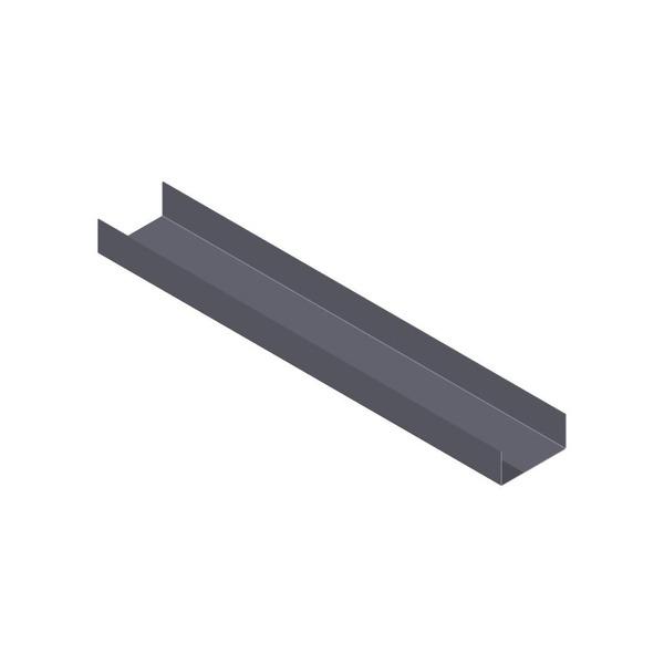 Perfil u light steel frame a o 6mx0 04mx0 95mm imecon for Perfil u aluminio leroy merlin