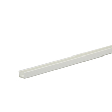 Perfil U PVC Porcelana 1m