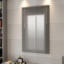 Persiana Horizontal Alumínio Inspire Prata 1,00x1,40m