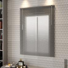 Persiana Horizontal Alumínio Inspire Prata 1,20x1,40m