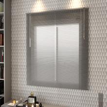 Persiana Horizontal Alumínio Inspire Prata 1,40x1,40m