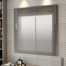 Persiana Horizontal Alumínio Inspire Prata 1,60x1,40m