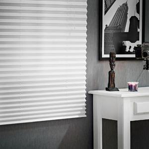 Persiana Horizontal Evolux Plissé Branca 1,40x1,20m