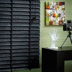 Persiana Horizontal Everblinds Preta 1,60x1,40m