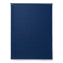 Persiana Horizontal PVC 2,5cm Azul 80x160cm