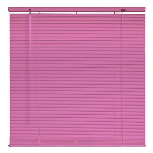 Persiana Horizontal PVC 25mm Pink 1,60x1,60 Everblinds