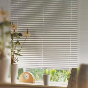 Persiana Horizontal PVC Block Branca 1,00x1,60m