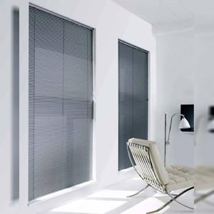 Persiana Horizontal PVC Block Cinza 1,20x1,60m