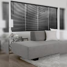 Persiana Horizontal PVC Block Preta 1,20x1,60m