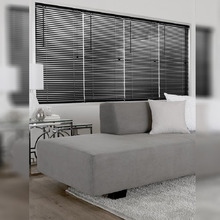 Persiana Horizontal PVC Block Preta 1,20x2,20m