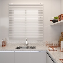 Persiana Horizontal PVC Off Branca 1,20x1,30m