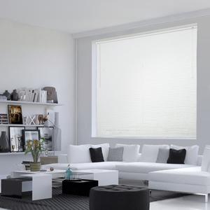 Persiana Horizontal PVC Off Branca 1,40x1,30m