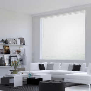 Persiana Horizontal PVC Off Branca 1,60x1,30m