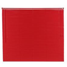Persiana Horizontal PVC Vermelha 1,60x1,40m