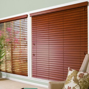 Persiana Horizontal PVC Wood Tabaco 1,80x1,60m
