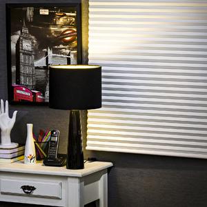 Persiana Horizontal Tecido Blackout Celular Branca 1,60x1,60m