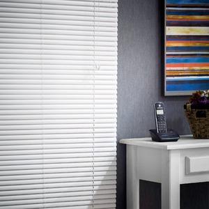 Persiana Horizontal Top Flex Trilho Metal Branca 2,20x0,80m