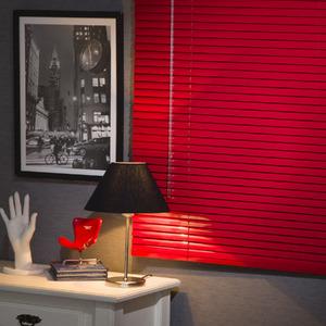 Persiana Horizontal Everblinds Vermelha 1,60x1,60m