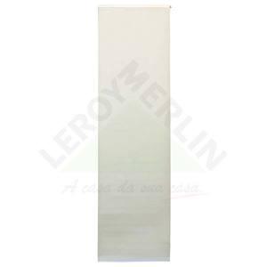 Persiana Painel Blackout Tecido 0,60x2,20m Bege Tecnarte