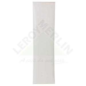 Persiana Painel Blackout Tecido 0,60x2,20m Branco Tecnarte