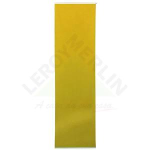 Persiana Painel Tecido 0,60x2,20m Amarelo Tecnarte