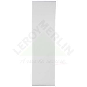Persiana Painel Tela Solar Tecido 0,60x2,20m Branco Tecnarte