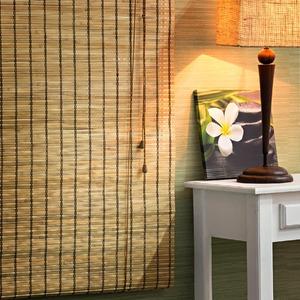 Persiana Rolô Top Flex Bambu Caramelo 1,60x1,00m