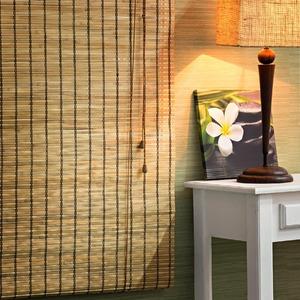 Persiana Rolô Top Flex Bambu Caramelo 2,20x0,80m