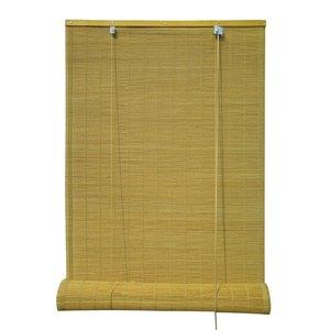 Persiana Rolô Bambu Dijibouti Amarela 1,00x2,20m