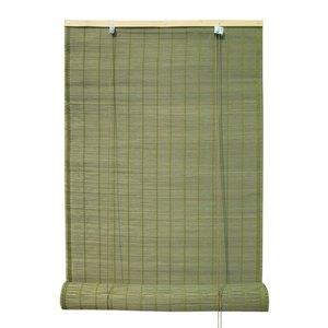 Persiana Rolô Bambu Dijibouti Verde 1,00x2,20m