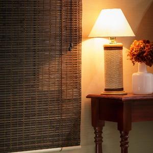 Persiana Rolô Top Flex Bambu Marrom 1,60x1,60m
