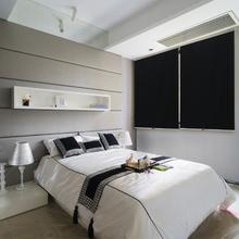 Persiana Rolô Blackout Preta 1,60x1,20m
