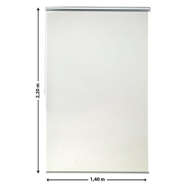 persiana rol tecido poli ster screen solar branca 1 40x2 20m inspire leroy merlin. Black Bedroom Furniture Sets. Home Design Ideas