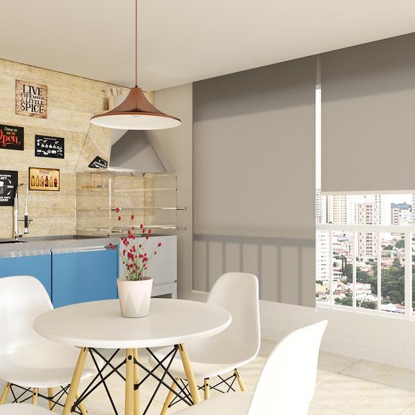 persiana rol tecido poli ster tela solar cinza 1 40x2 20m. Black Bedroom Furniture Sets. Home Design Ideas